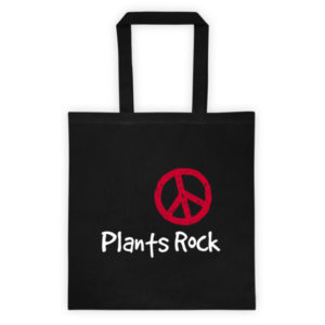 Plants Rock Tote bag
