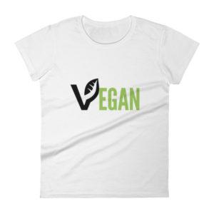 Women's VEGAN short sleeve t-shirt